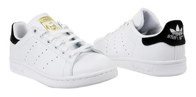 Tênis adidas Stan Smith Jr Classic White Black,imediato