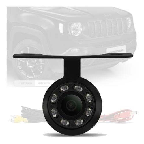 Imagem 1 de 4 de Camera De Ré Borboleta Led Visão Noturna Jeep Renegade
