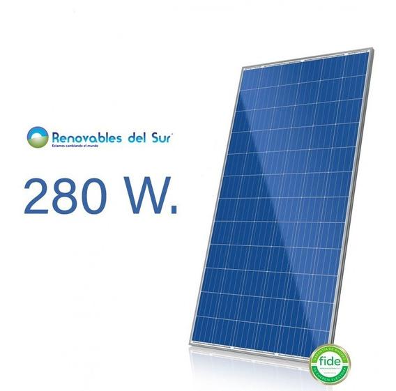 Panel Solar Perlight 280w Policristalino