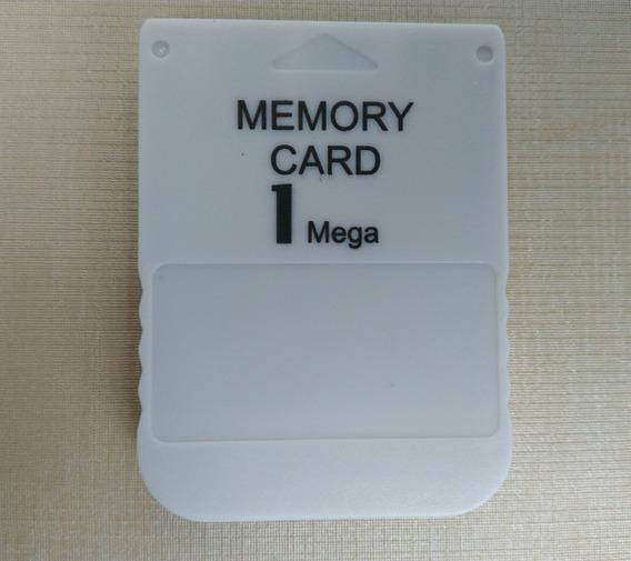 Memory Card Ps1 Psone 1mb 15 Blocos Playstation Novo