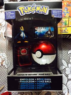 Pokemon Pokebola Traido De Usa Tomy Nuevo Sellado