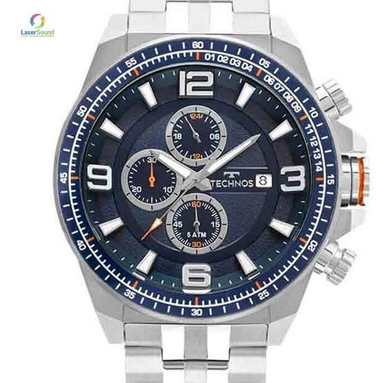 Relógio Technos Masculino Js15fd/1a, C/ Garantia E Nf