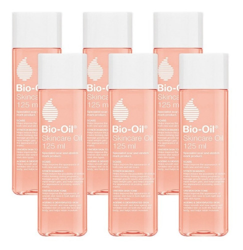 Aceite Bio-oil 125 Pack X6 Unidades