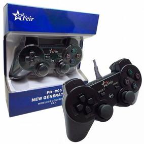 Controle Com Fio Para Playstation 3 E Pc - Feir Fr-205a
