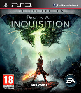 Dragon Age Inquisition Deluxe Edition Ps3 Digital Gcp