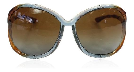 Óculos Tom Ford Claudia Bambu Caramelo Tom Ford