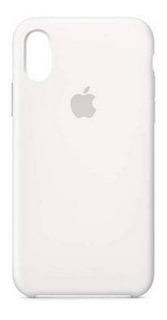 Capa Capinha Case Com Logo Apple iPhone Xr Silicone Original