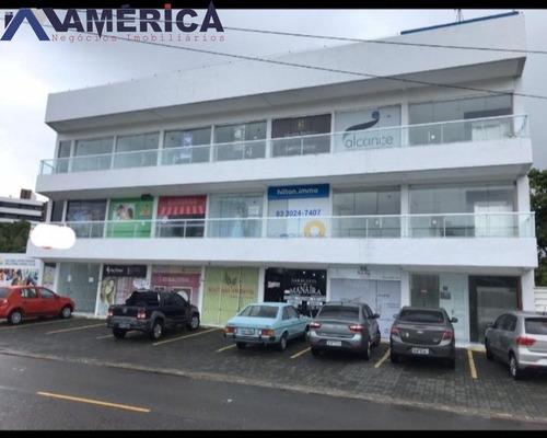 Sala Para Alugar, 30 M² Por R$ 1.300/ano - Jardim Oceania - João Pessoa/pb - Sa0001 - 67664062