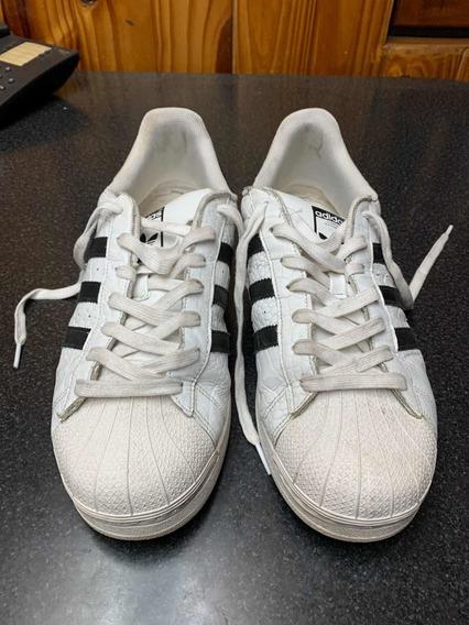 Zapatillas adidas Originals Superstar Blancas Y Negras