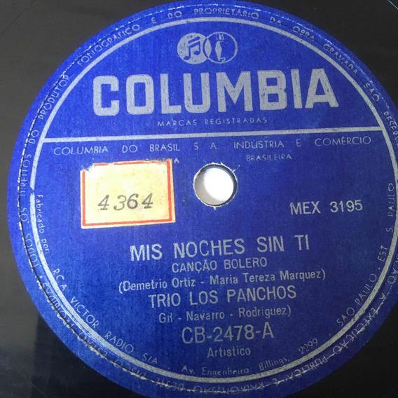 Lp 10 Trio Los Panchos - Mis Noches Sin Ti (leia Descrição)