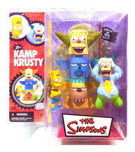 Imagen 1 de 1 de Los Simpson Bart Campamento Krusty (nuevo) Mcfarlane