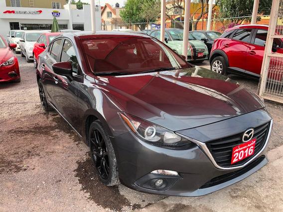 Mazda 3 Sedan S 2.5l 2016 Credito Recibo Auto Financiamiento