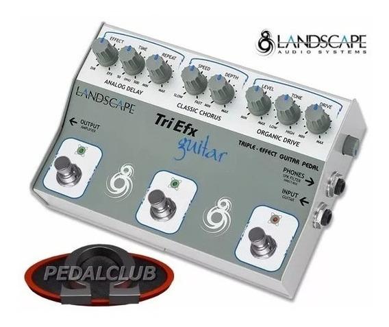 Pedal Landscape Trigt Triefx Guitar Delay Chorus Overdrive