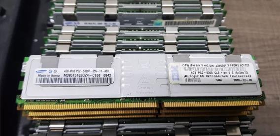 Memoria 4gb Pc2-5300f Servidor Ibm X3650 M2