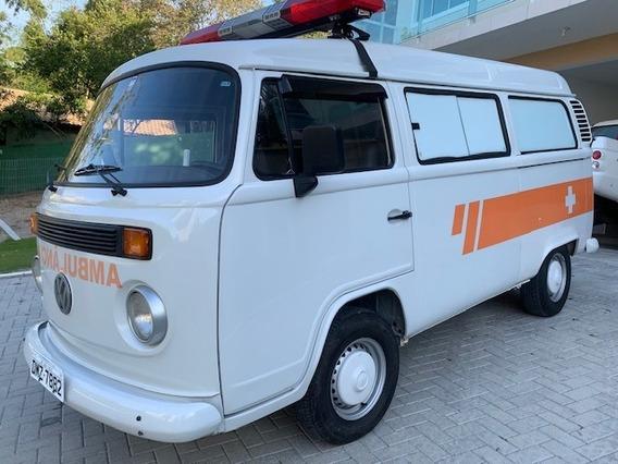 Kombi Ambulancia 2005 Reliquia 12000km Rodados Igual A Zero