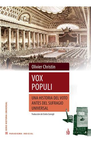 Imagen 1 de 1 de Vox Populi, De Olivier Christin