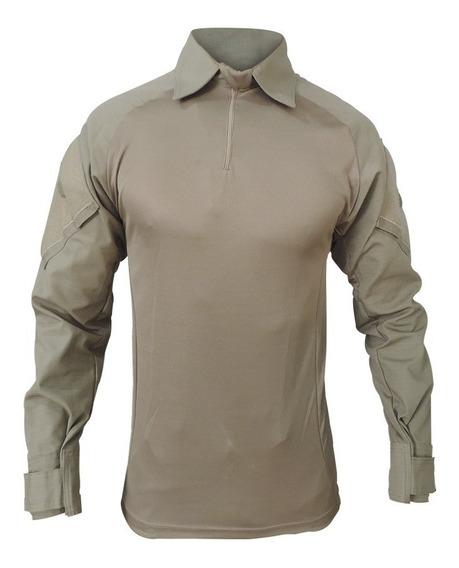 Camisa Tática Shirt Resistente Em Rip Stop Airsoft Fox Boy