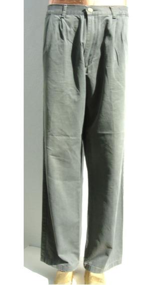 Kevingston Pantalon Hombre T44 Algodon Verde (ana.mar)