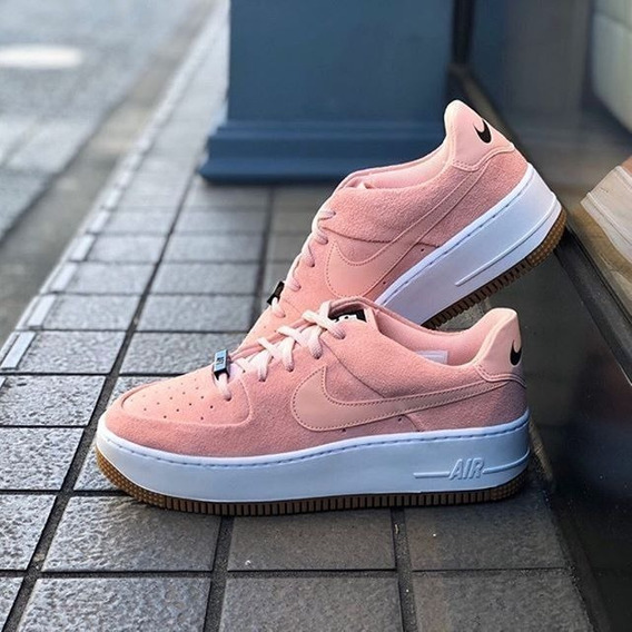 Zapatilla Nike Air Force 1 Sage Low Pink - Mujer