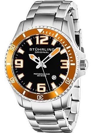 Reloj Buceo Analógico Acero Inoxidable 395.33i117 Stührling
