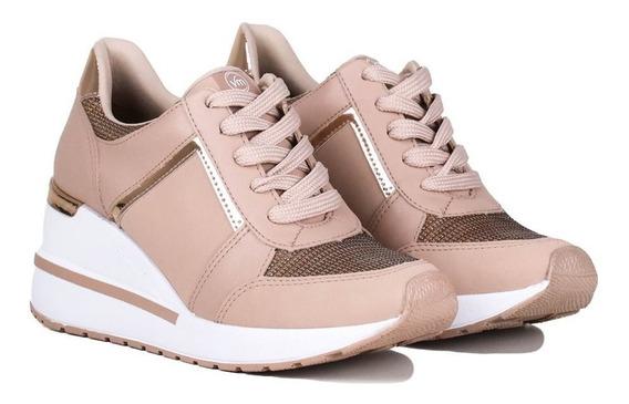 Tênis Via Marte 193353 Sneaker Feminino Flatform + Meia Puma