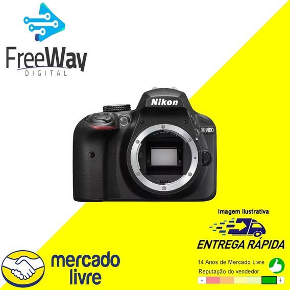 Câmera Digital Nikon D3400 Apenas A Camera