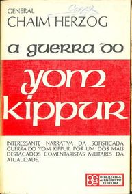 Livro Chaim Herzog A Guerra Do Yom Kippur Editora Bibliex