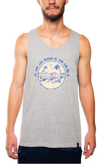 Mxc 223 Camiseta Masculina Regata Beach