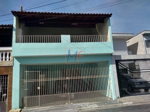 Imagem 1 de 30 de Ref 9701 Linda Casa Assobradada No Bairro Jardim Vila Formosa, 157 M² M Com 2 Suites E 2 Vagas. Estuda Propostas E Permutas. - 9701