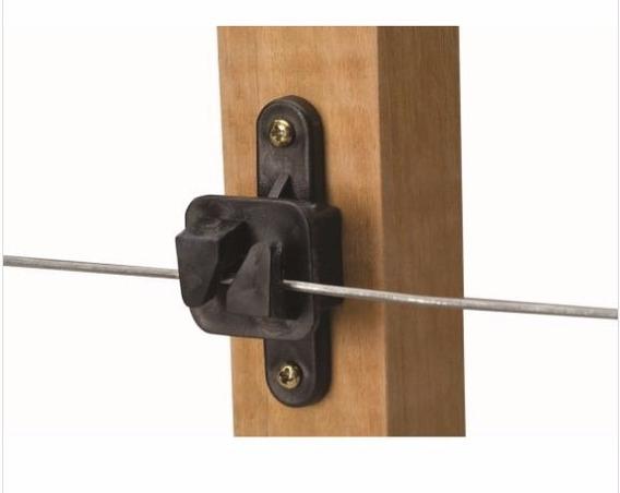 Isolador Eletrico W Para Cerca Eletrica Pacote 50 Unidades