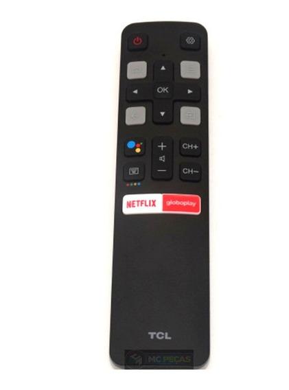 Controle Remoto Tv Tcl Smart Rc802v Flr1 Novo E Original !!!