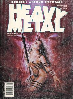 Fantasy Artbook - Heavy Metal - January 1995