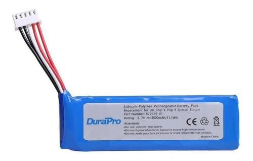 Bateria Compatível Jbl Flip 4 Gsp872693 01 Ou P763098-03a