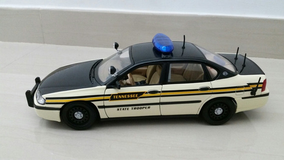 Chevrolet Impala Patrulla De Policía Maisto 1/18