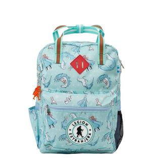 Mochila Bart Frozen Aqua Disney Legion Extranjera Escolar