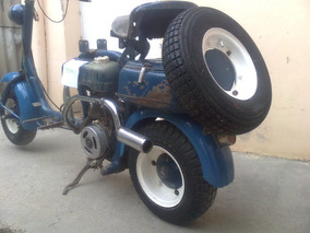 Motoneta Siambretta 125 Cc, Mod: St 1957