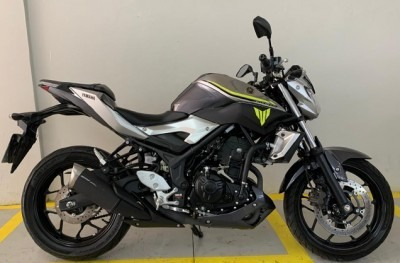 Motocicleta Yamaha Mt 03 Abs 2018 Prata