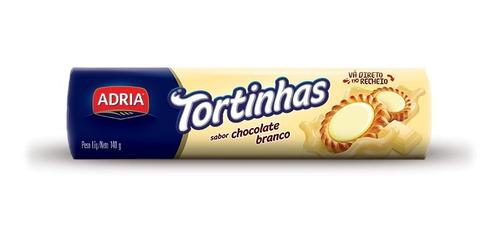 Adria Tortinhas Chocolate Branco
