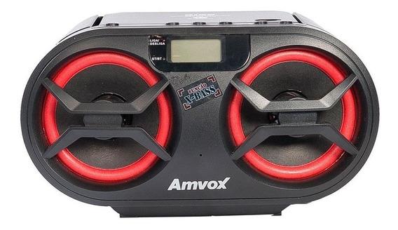 Rádio Amvox Amc-590 Usb Fm Display Digital 348