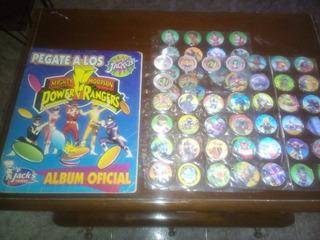 Coleccion De Tazos Power Rangers
