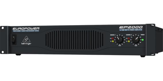 Amplificador Poder Behringer Ep2000 2000w Max Peso Ligero