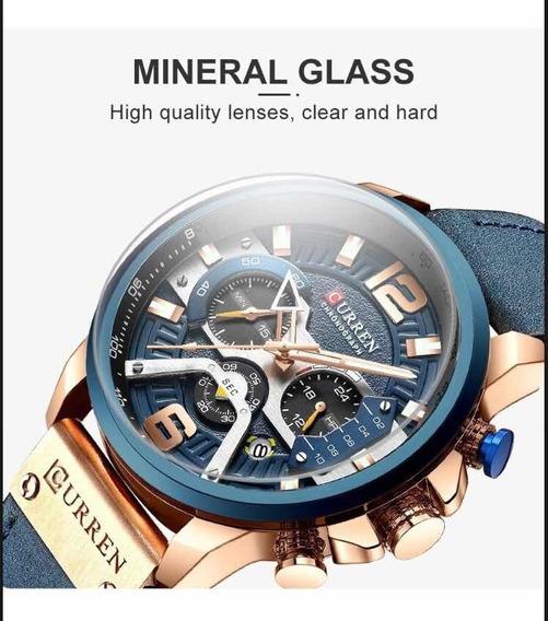 Preço Promocional! Relógio Original Da Curren