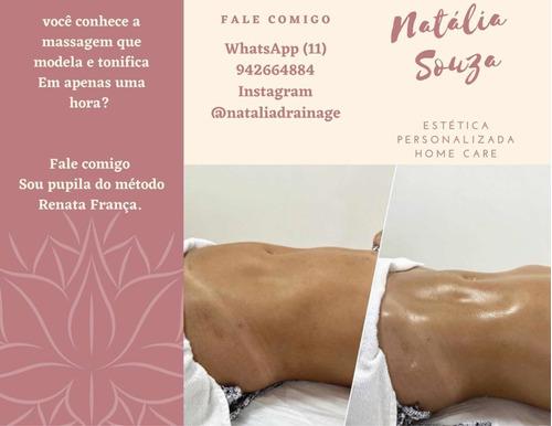 Promoção Pacote De Massagem Método Renata França!