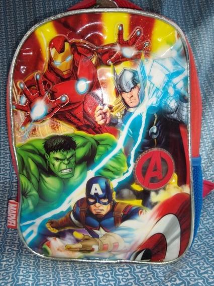 Mochila Preescolar Avengers.