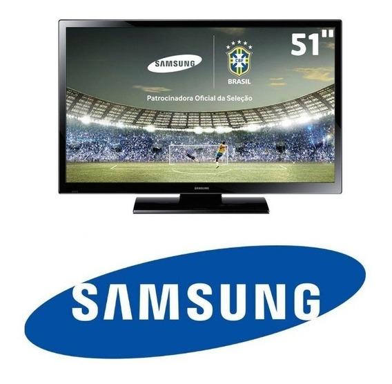 Tv Samsung Plasma 51 Polegadas Completa *não É Smart*