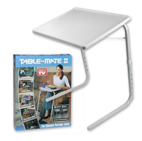 Mesa Plegable Portatil Table Mate Sala Laptop Niños Adultos