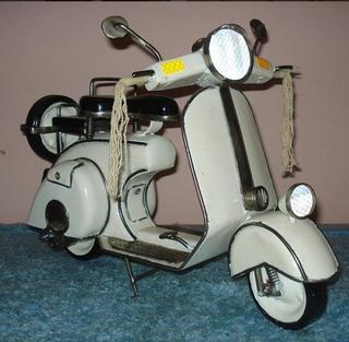 Moto Vespa De Colección