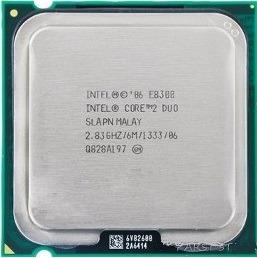 Processador Cpu Core 2 Duo E8300 Lga 775 Temos E8400 E7500 ¨