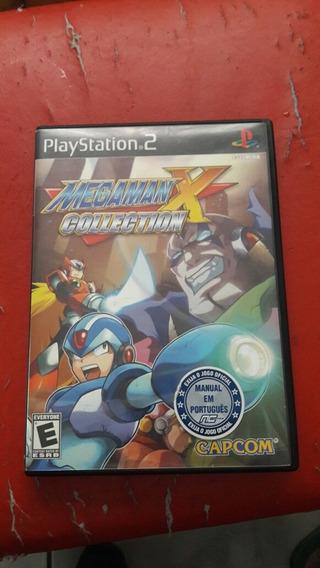 Mega Man X Collection Ps2 Original