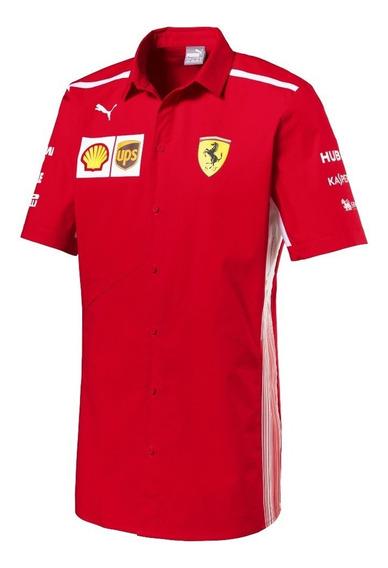 Camisa Vestir Puma Ferrari Vettel Raikonen En **oferta**
